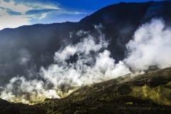 帕潘达扬火山 图库摄影