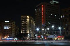 帕特拉旅馆Tahrir广场埃及 免版税图库摄影