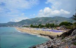 帕特拉海滩 库存图片