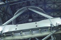 帕瑞纳山望远镜的镜子  库存照片