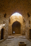 帕福斯城堡内部  库存图片