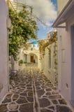 帕罗斯岛海岛希腊 库存图片