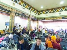 帕罗机场在不丹 免版税库存照片