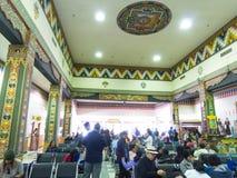 帕罗机场在不丹 库存照片