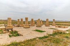 帕萨尔加德考古学站点 库存照片
