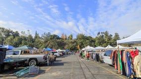 帕萨迪纳,加利福尼亚,美国- 2016年1月10日:著名蚤ma 免版税库存照片
