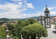 帕雷德斯de Coura在Norte地区,葡萄牙 免版税库存图片