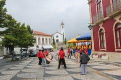 帕雷德斯de Coura在Norte地区,葡萄牙 免版税库存照片