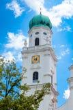 帕绍,德国看法  库存图片