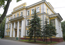 维帖布斯克地区的克格勃部门 免版税库存图片