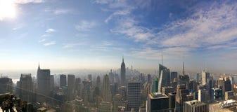 帝国大厦和惊人的摩天大楼看法  库存图片