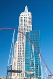 帝国大厦在拉斯维加斯的Stri新的约克新的约克 库存照片