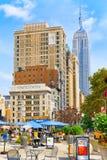 帝国大厦是一个艺术装饰摩天大楼在中间地区Manha 免版税库存图片