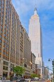 帝国大厦是一个艺术装饰摩天大楼在中间地区Manha 库存图片