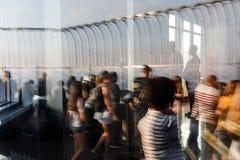 帝国大厦的观察台 库存图片
