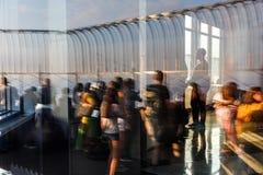 帝国大厦的观察台 图库摄影