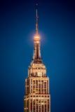 帝国大厦的细节 库存图片