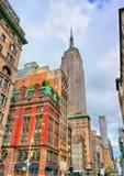 帝国大厦,最高在世界大厦从1931年到1970年 库存照片