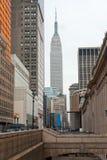 帝国大厦,纽约。 美国. 库存照片