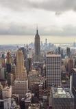 帝国大厦,纽约地平线 免版税库存图片