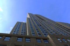 帝国大厦-纽约的看法 图库摄影