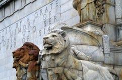 帝国的狮子 免版税库存照片