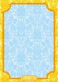 帝国装饰品样式 库存照片