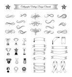 带丝带十五设计变异的磁带汇集, 库存图片