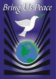 带来和平我们 免版税库存图片