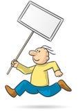 带来标志 免版税库存照片