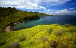 带淡红色的海岛 免版税图库摄影