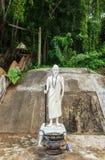 带状闪长岩在泰国 图库摄影