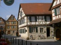 席勒的出生地, Marbach,德国 图库摄影
