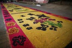 席子和宗教在墨西哥 库存图片