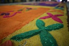 席子和宗教在墨西哥 图库摄影