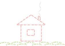 帮助房子 免版税图库摄影