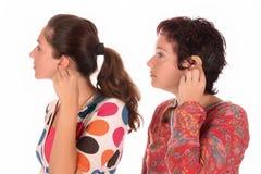 帮助耳朵听证会放置 免版税库存图片