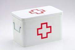 帮助配件箱第一 免版税库存图片