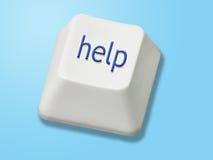 帮助键 库存图片
