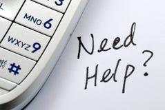 帮助需要 免版税库存图片