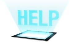 帮助-技术支持 免版税库存照片