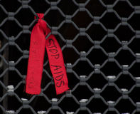 帮助HIV 库存图片