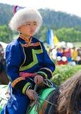 常规蒙古人世界 免版税库存照片