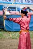 常规蒙古人世界 免版税库存图片