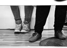 常设feets 免版税库存图片