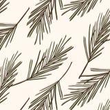 常青树样式 葡萄酒新年传染媒介纹理 森林季节性圣诞节盖子背景 植物学寒假surfac 皇族释放例证