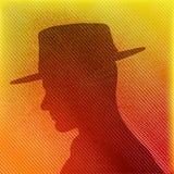 帽子人 免版税库存照片