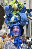 帽子唯一的复活节 库存照片