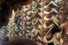 帽子商店 免版税库存照片