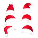帽子圣诞老人 库存照片